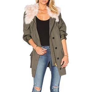 Smythe jacket size L like new